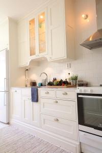 Platsbyggt kök i lägenhet