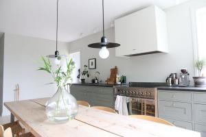 koksbord och kok