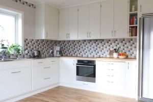 retro platsbyggt kök